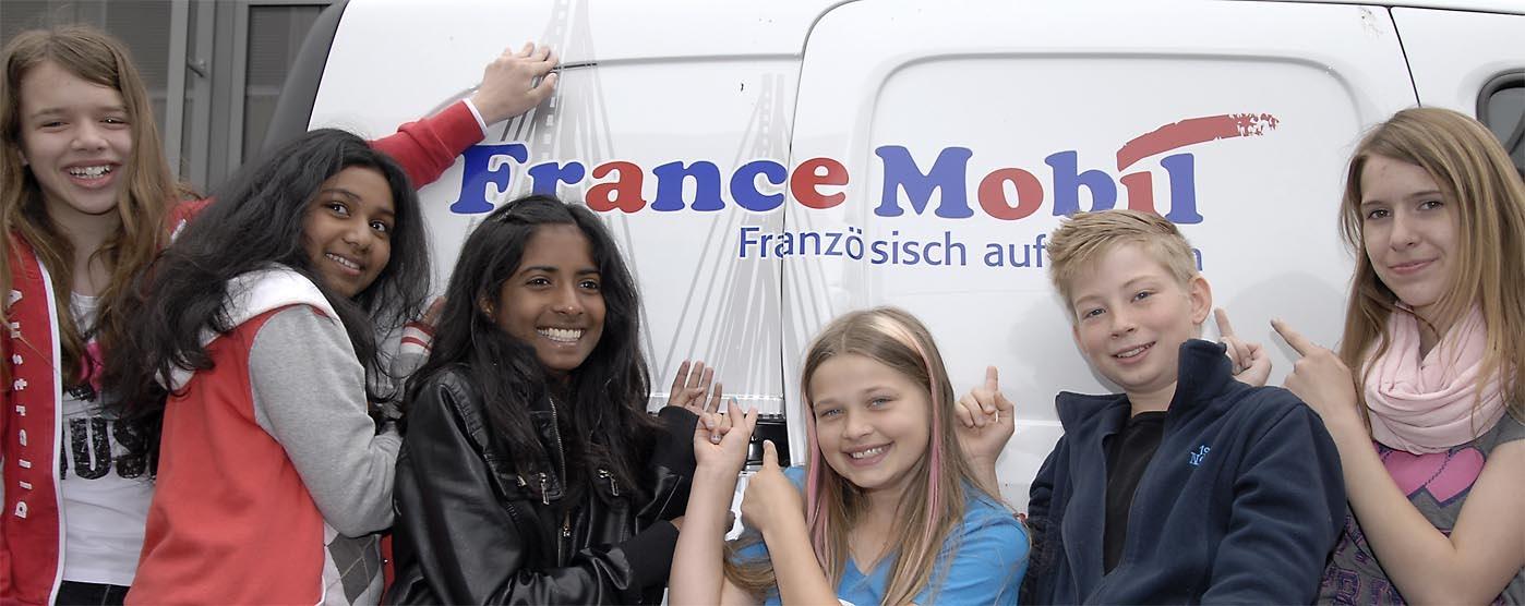 Französisch-FranzMobil-Schüler